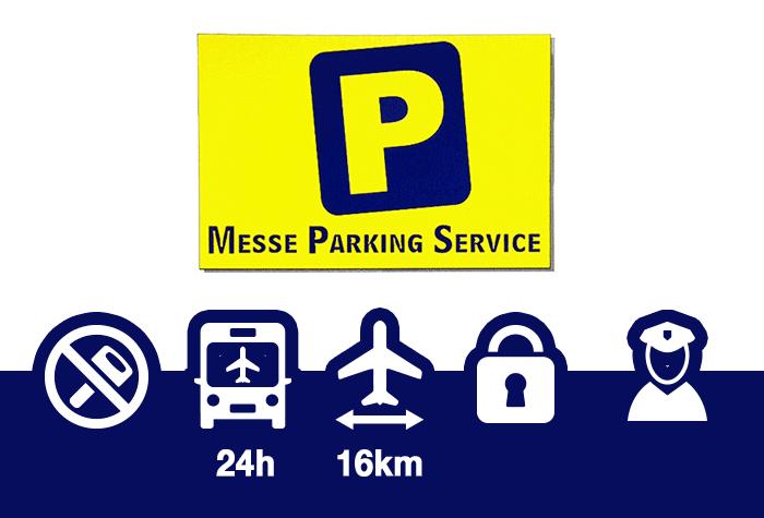 Messe Parking Service Parkplatz
