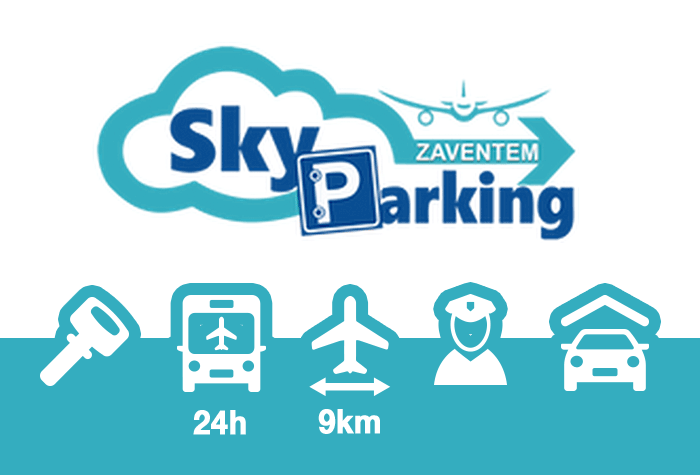 Sky Parking Parkhalle Zaventem