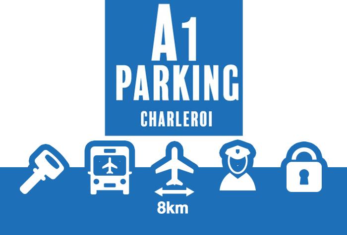 A1 Parking Parkplatz Charleroi