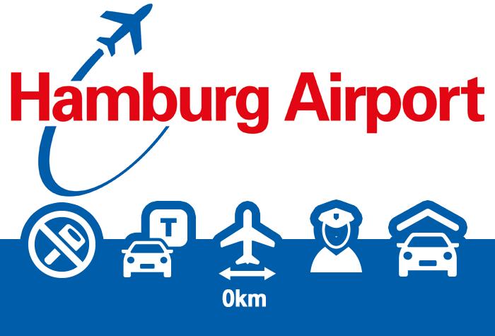 Hamburg Airport P1+2 direkt am Terminal
