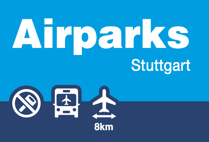 Airparks Parkhaus  Oberdeck Stuttgart - Winterspecial