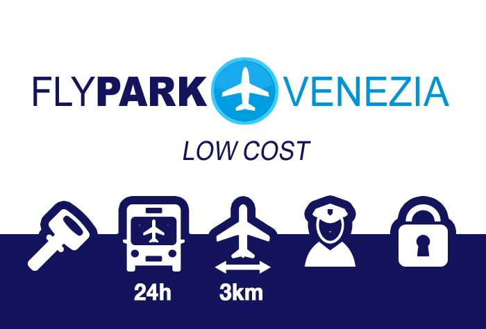 Flypark Parkplatz Venedig